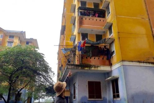chung cư, trường hợp thương tâm, bé gai rơi từ tầng 3 chung cư tử vong