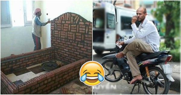 Cười rớt hàm với hình ảnh hài hước trên FB tuần qua
