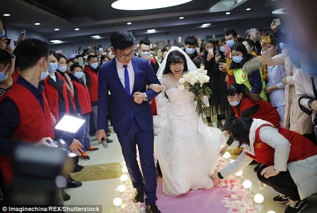 xót xa đám cưới của cô gái ung thư không chú rể