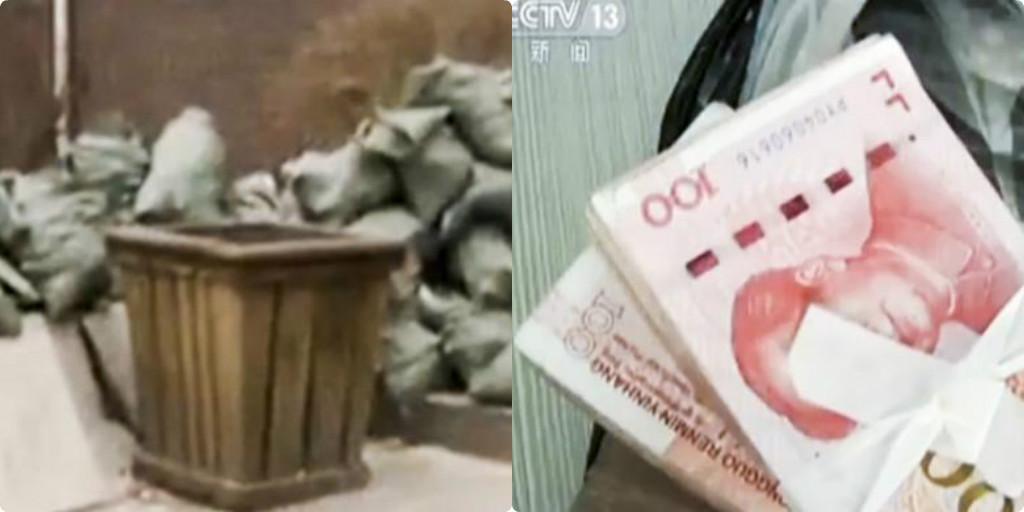 Chuyện lạ : Người đàn ông ném nhầm hơn 400 triệu vào thùng rác, lúc nhớ ra quay lại thì gặp cảnh tượng ngỡ ngàng