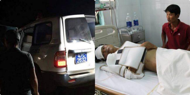 Xe cấp cứu xảy ra tai nạn bị nổ lốp, làm 3 người bị chết