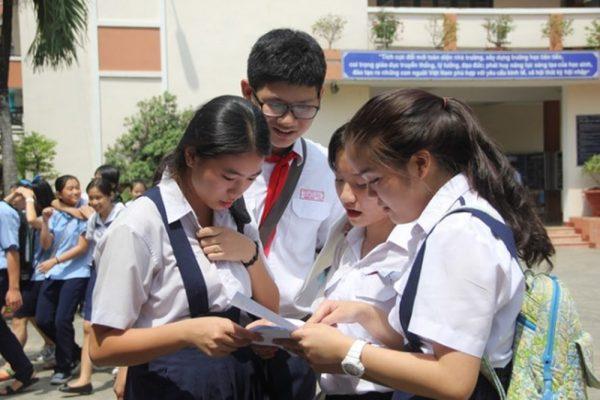 13/6 TP Hồ Chí Minh công bố điểm thi tuyển  sinh vào 10