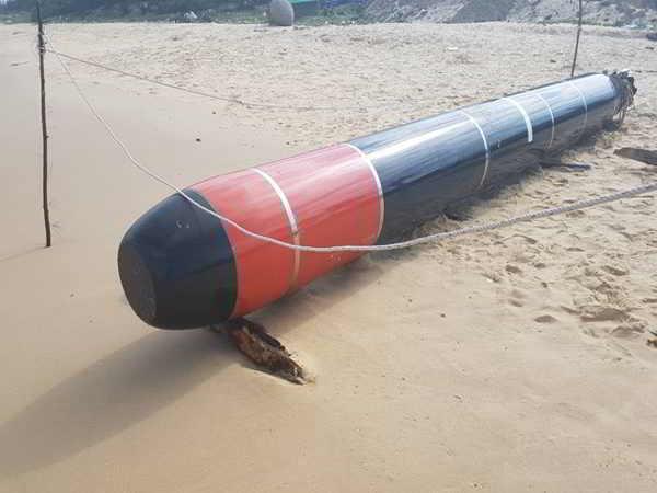 Vật thể lạ trên biển Phú Yên là ngư lôi của hải quân nước ngoài