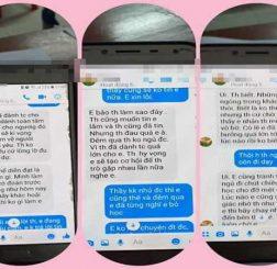Thầy giáo gạ tình nữ sinh qua tin nhắn ở trường chuyên Thái Bình