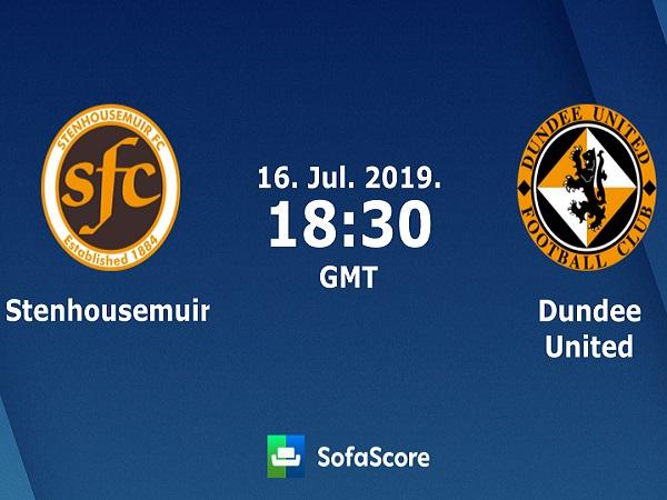 Nhận định Stenhousemuir vs Dundee United, 1h30 ngày 17/07