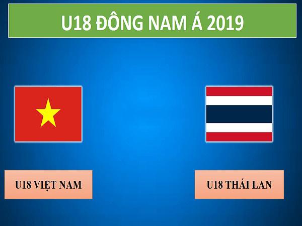 Nhận định U18 Việt Nam vs U18 Thái Lan, 19h30 ngày 13/08