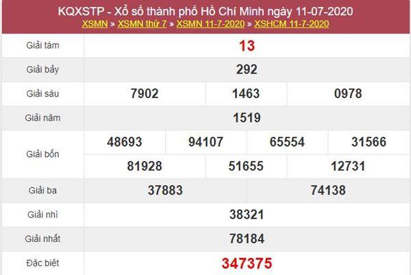 Dự đoán XSHCM 13/7/2020 - KQXS Hồ Chí Minh thứ 2