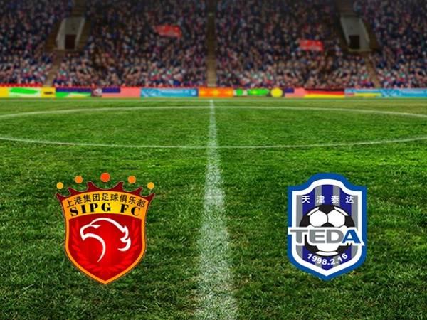 Soi kèo Shanghai SIPG vs Tianjin Teda 19h00, 31/08 - VĐQG Trung Quốc