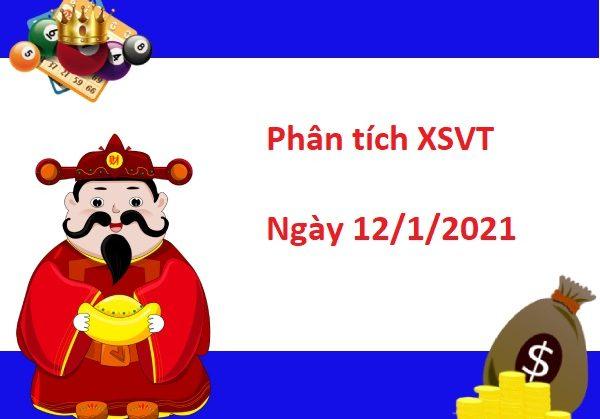 Phân tích XSVT 12/1/2021