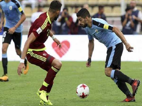 Nhận định kèo Venezuela vs Uruguay