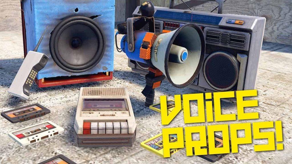 DLC mới Rust Voice Prop sẽ không cho phép chơi các URL tùy chỉnh, nhưng vẫn rất thú vị