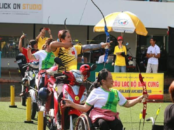 ASEAN Paragames có 11 môn thi đấu