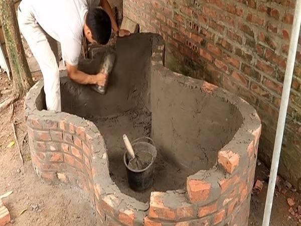 Mơ thấy xây bể nước