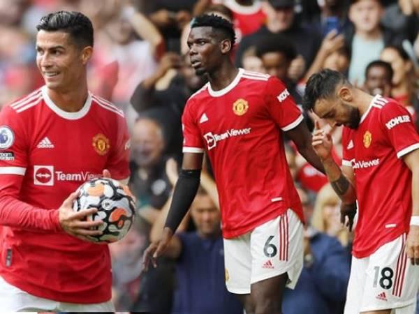 """Tin thể thao 14/10: Pogba, Fernandes """"bái sư"""" Ronaldo ở khoản đá 11m"""